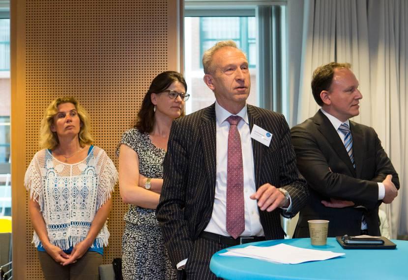 Deelnemers tijdens regiobijeenkomst